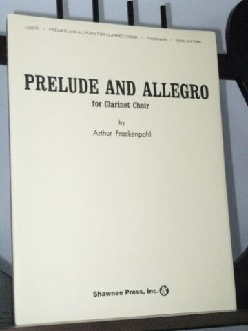 Frackenpohl A - Prelude and Allegro